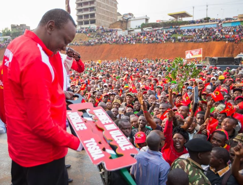 Jubilee and rival supporters clash ahead of Uhuru's tour in Marsabit