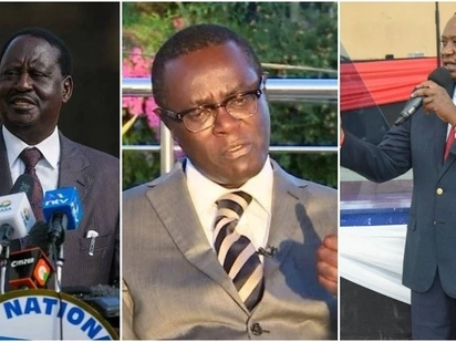 Finish Raila now or you may regret it - Mutahi Ngunyi to Uhuru