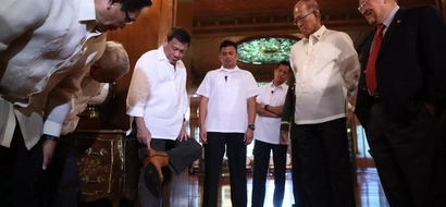 LOOK! President Duterte wore Marikina-made boots during his meeting with John Kerry