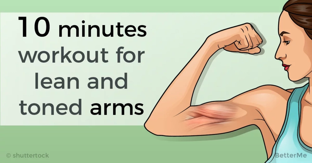10 minutes workout for lean and toned arms
