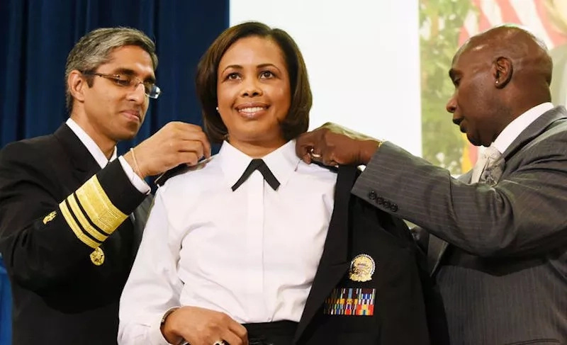This African-American nurse is now the new U.S. Surgeon General (photo)