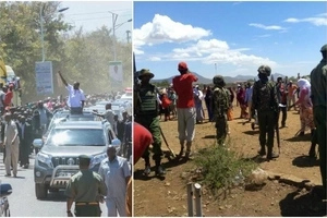 Chaos in Isiolo during Uhuru's rally leaves one dead, details