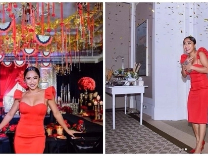 La Roche Vita! Take a peek at Rochelle Pangilinan's Spanish Flamenco-themed bridal shower with her showbiz friends