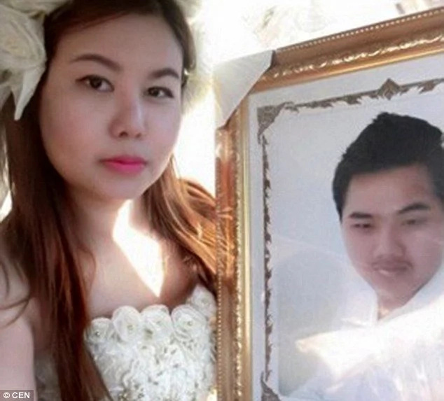 Distraught Bride Marries Lover Despite Him Being Dead
