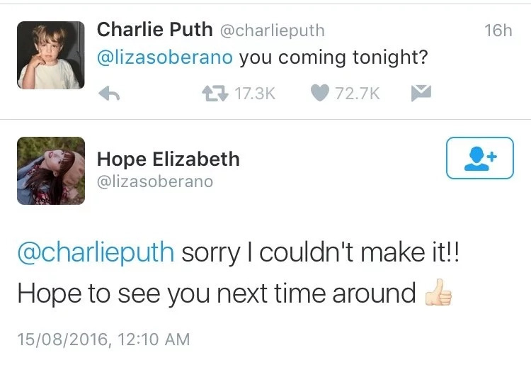 Ang haba ng hair! The Twitter exchange that made fans go crazy jealousy.