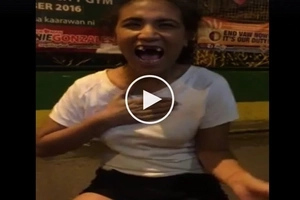 This will give you loads of good vibes! Funny Pinay covers 'She She Dance' in epic viral video