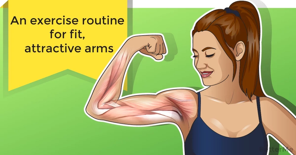 An exercise routine for fit, attractive arms