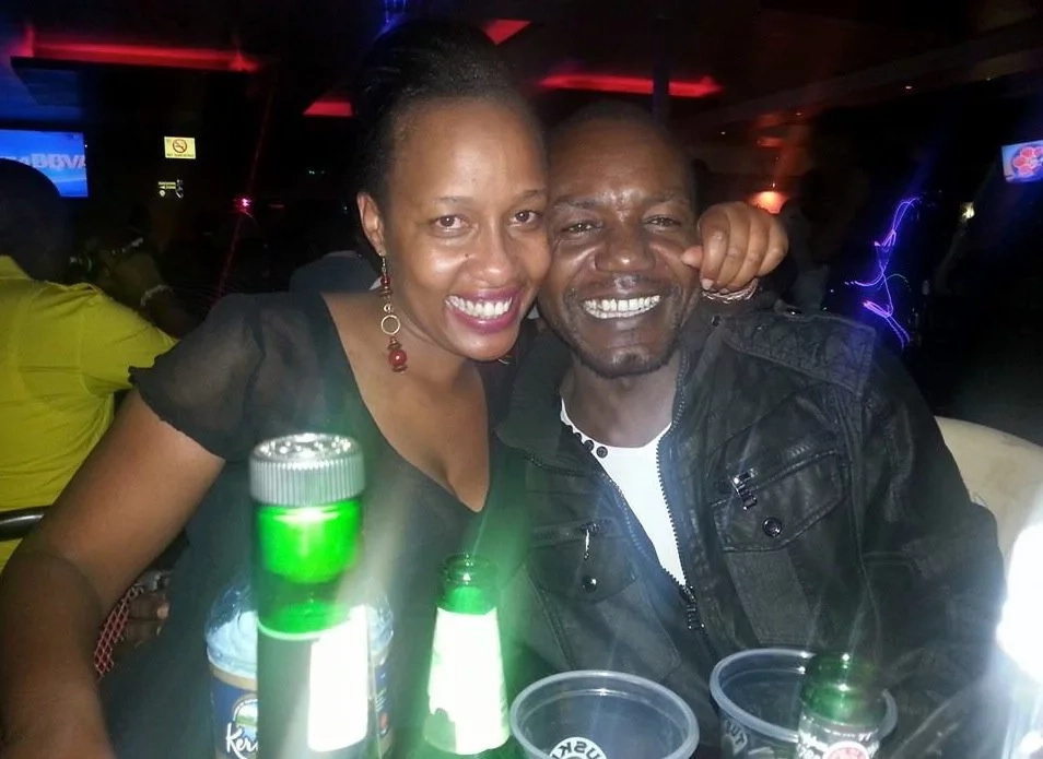 A never before seen photo of comedian Teacher Wanjiku's 13-year-old daughter
