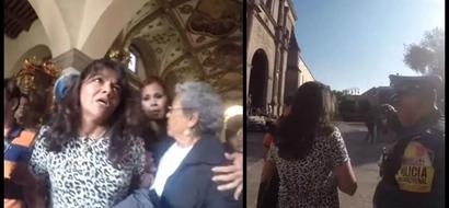 Mujer se opuso a una boda en una iglesia mexicana, los invitados se fueron al escuchar sus razones para impedir el matrimonio