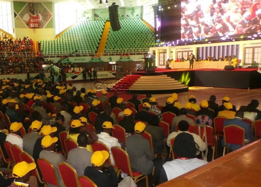 Jubilee delegates cause chaos demanding for allowances