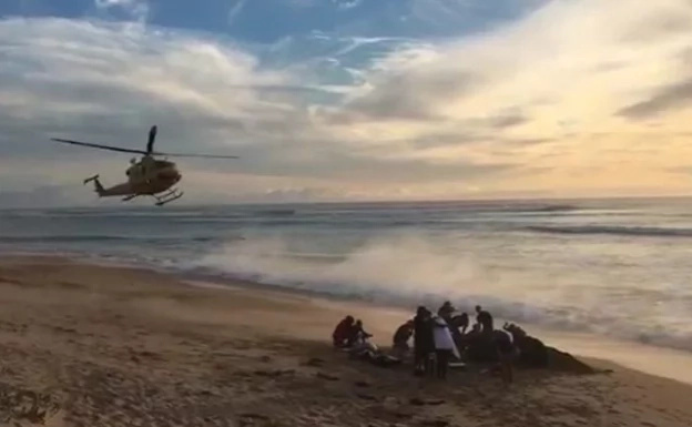 [WATCH] Surfer loses leg after warning reject