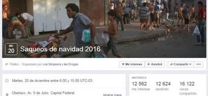 ¡Increíble! Grupo en Facebook invita a robar tiendas