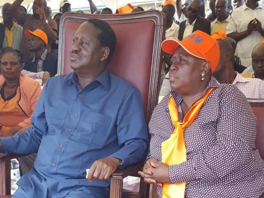 Raila Odinga's sister HAUNTED by a 2013 case, details