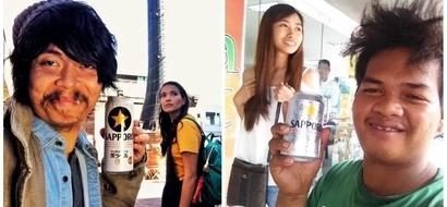 "Panalo si kabayan! Netizen imitates Alessandra de Rossi and Empoy Marquez' famous 'Sapporo' photo in the movie ""Kita Kita"""