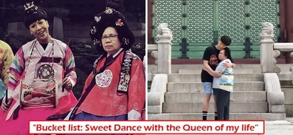 'Ikaw ang reyna ng buhay ko' Vice Ganda shows soft side as he dances with his aging mother at the Korean palace