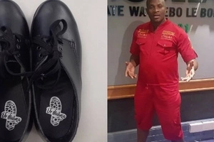 African POP STAR Dr. Malinga will be handing out shoes to poor schoolchildren (photos)