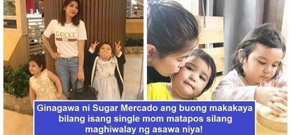 Sobrang hirap maging single mom! 'Wowowin' host Sugar Mercado and her 2 super cute daughters