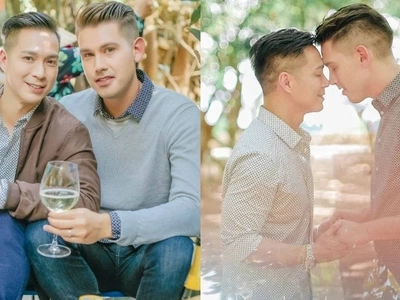 Francis Libiran and Christian Mark Jacobs give us ultimate goals with their prenup shoot in Vietnam