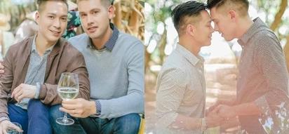 Fashion designer Francis Liberan and fiance Christian Mark had their prenup shoot taken in Vietnam