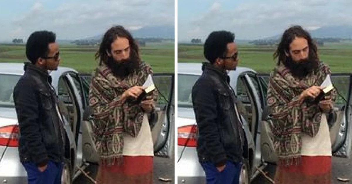 7 photos of the knock-off Jesus who is causing a stampede on Kenyan streets