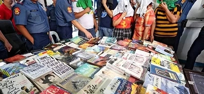 5 'book thieves' arrested for stealing and selling P37,000 worth of books
