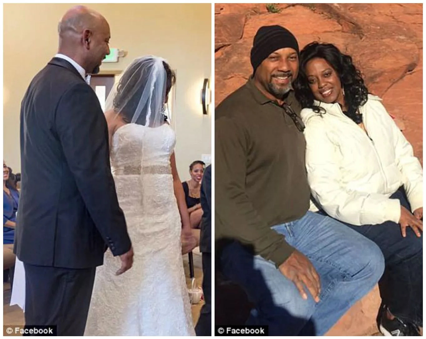 Man who shot wife at school had been married to her for less than 3 months (photos, video)