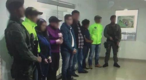 Desarticulan organización del narcotráfico en Bogotá
