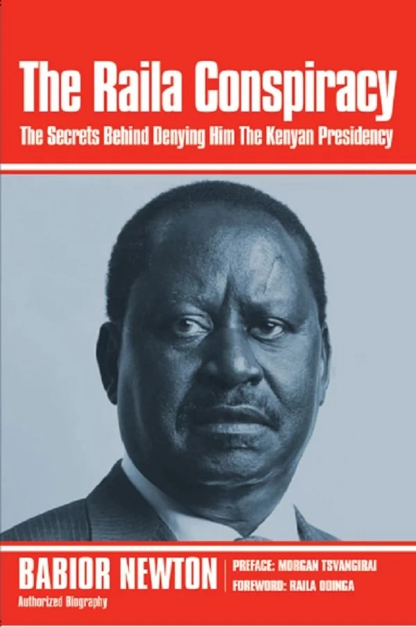 How August 8 elections rigging started, NEW Raila book lays bare