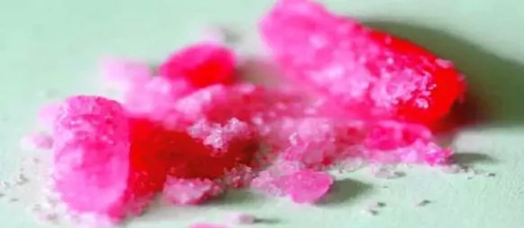 These innocent strawberry meth candies are drugs
