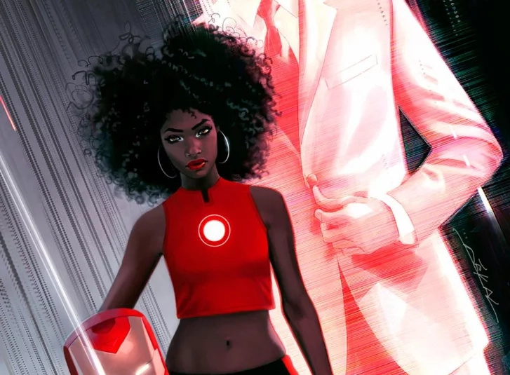 A black woman is the new Iron Man