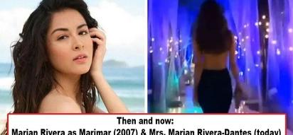 Di kumupas ang 'Thalia' ng Pinas! Mrs. Marian Rivera-Dantes shows off famous Marimar curves in video clip, makes netizens ask: 'Nasaan ang hustisya?'
