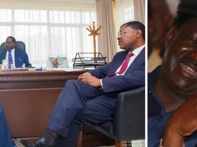 Details emerge of how Wetangula SAVED Raila's life after suffering food poisoning