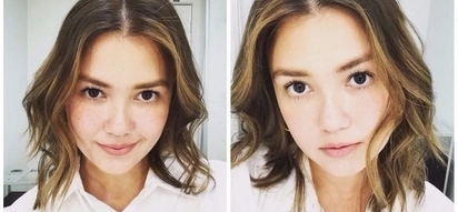 To the young and beautiful her! Angelica Panganiban shows off gorgeous blonde hairdo