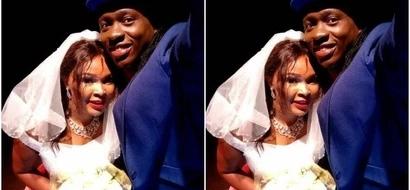 No, Obina did not do a wedding and TUKO.co.ke has the evidence