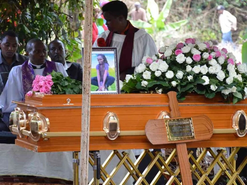 Photo: Teenager who died in Kiambaa after night out buried