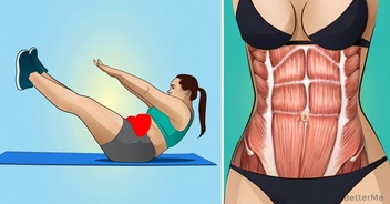 8 simple exercises for upper belly fat
