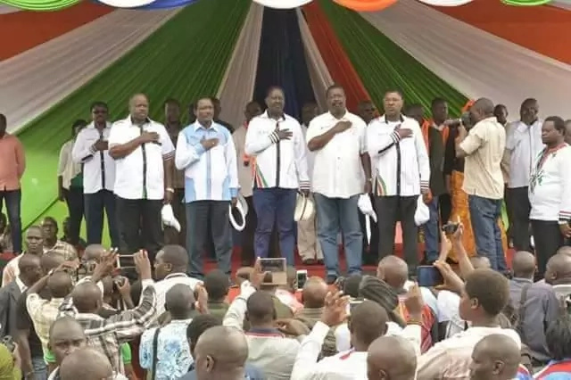 Raila's latest move indicates he is ready to end in court after August 8 polls