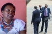 Joseph Nkaissery's widow breaks into a sob while eulogizing her late husband