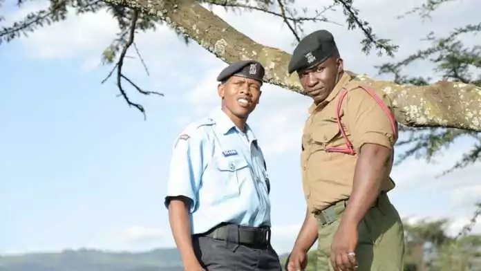 Kenyan women are going crazy over this cop
