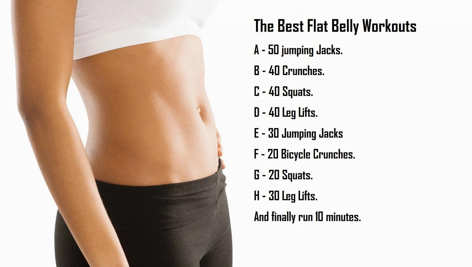 5 Must-See Exercises That Will Help You Achieve A Flat Belly!