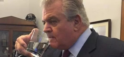 Photos: This American Leader Stole The Pope's Water; Here's Why