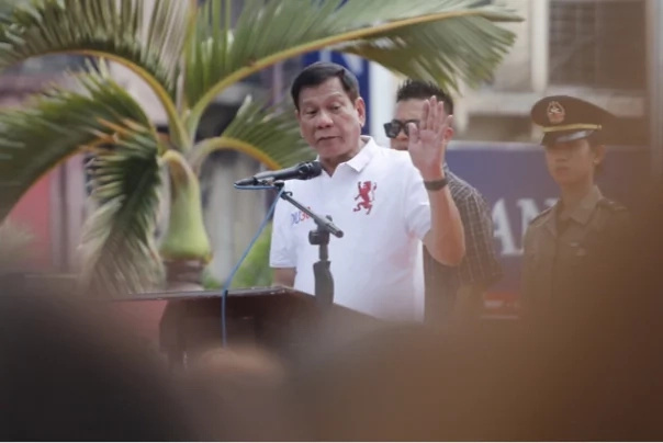 Duterte mocks the Catholic church anew