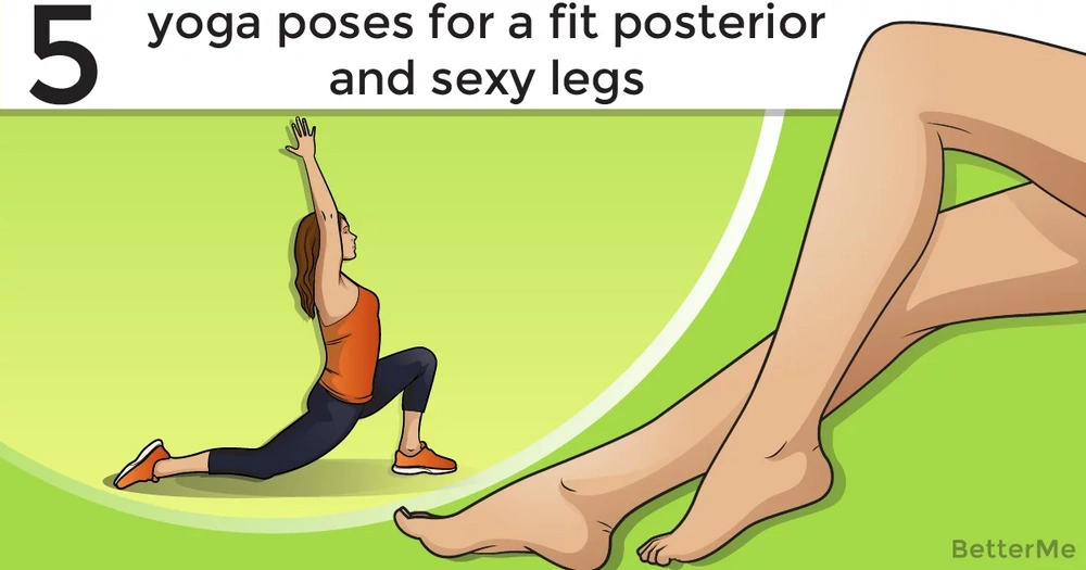 5 yoga poses for a fit posterior and sexy legs