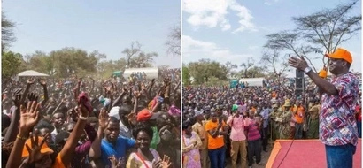 Hours after he was SHOT at, Raila goes back to Turkana, then this happens