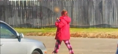 Homeless Woman Carrying A Skull On A Stick Leads Police To A Dead Body