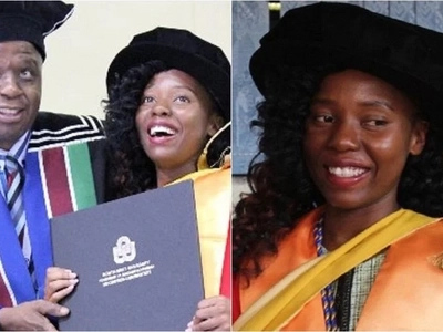 Enlivening! Meet Africa's youngest female PhD holder - she is only 23