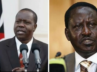 Kenyans react after Matiang'i called Raila unqualified