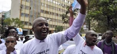 VIDEO: Anti-Homosexual Protests In Nairobi Ahead Of Barack Obama Visit
