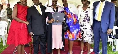 Mkewe Rais Museveni azungumzia maisha ya ngono ya wanawe 3