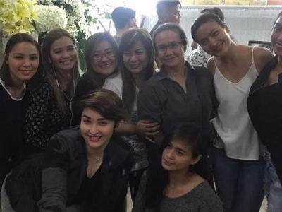 Sexbomb Girls, sama-samang nagpaalam kay Direk Ruel ng Daisy Siete